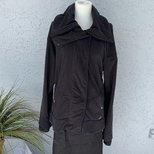 New! Adidas Super Comfy Warm Dark Grey Jacket XL